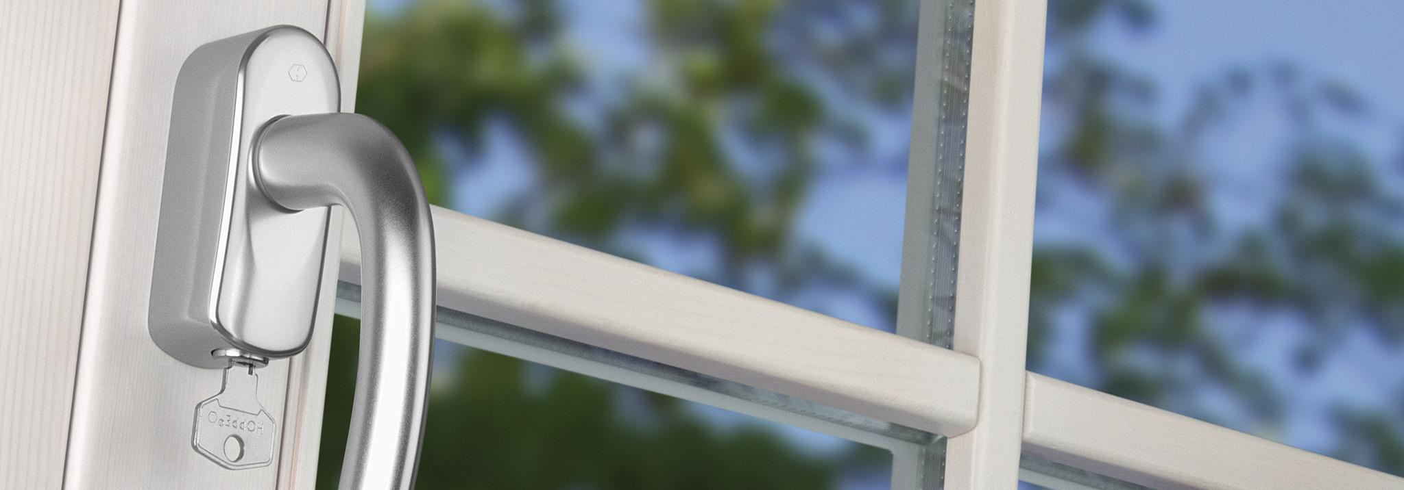 Sécurisées et personnalisables – Poignées de fenêtre avec SecuSelect®