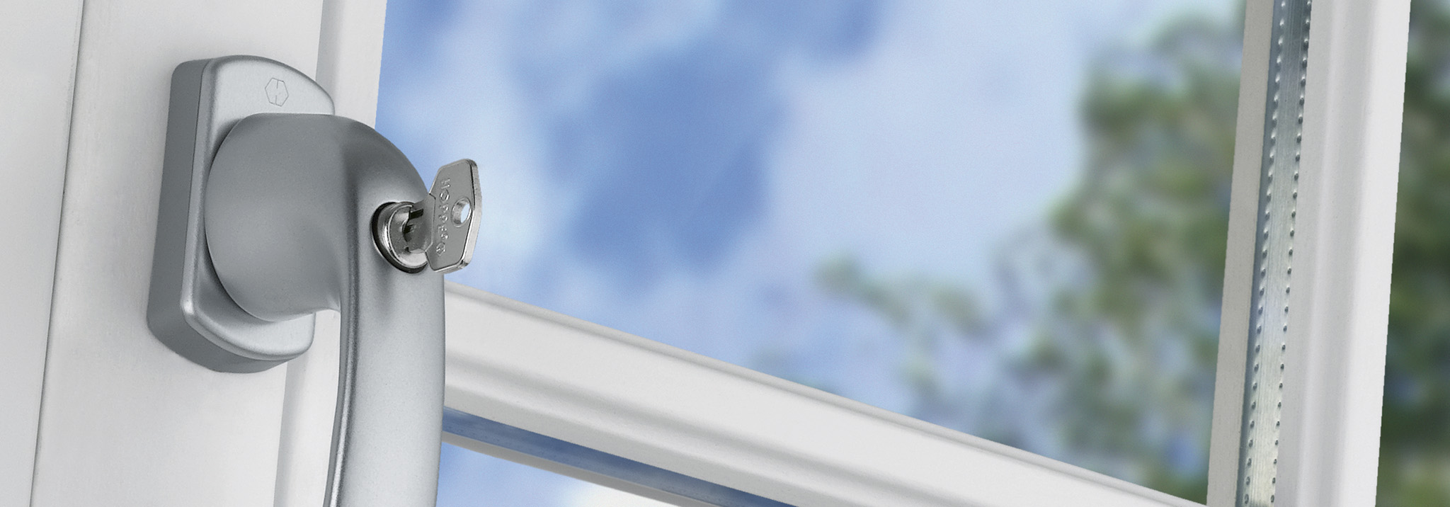 SecuDuplex® 双联保护 — 创新的双重功能窗把手 (DF)