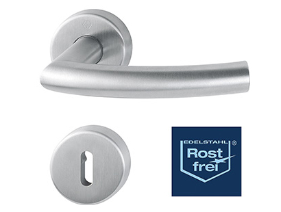 Nerezové rozetové dveřní kování