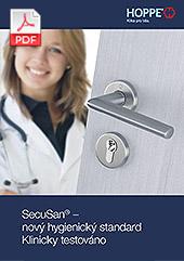 SecuSan® – nový hygienický standard  Klinicky testováno (1,8 MB)