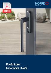 Kování pro balkónové dveře (17,4 MB)