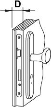 Tloušťka dveří