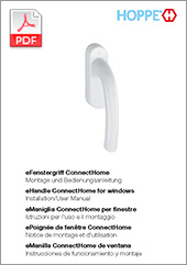 eManilla ConnectHome de ventana Instrucciones de funcionamiento y montaje  (1,8 MB)