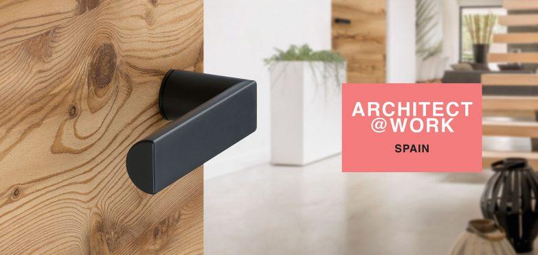 Visite HOPPE en<br>ARCHITECT@WORK, Barcelona