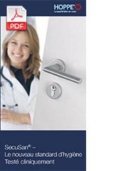SecuSan® – Le nouveau standard d'hygiène / Testé cliniquement (Flyer, 0,7 MB)