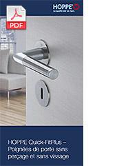 HOPPE Quick-FitPlus – Poignées de porte sans perçage et sans vissage (0,8 MB)