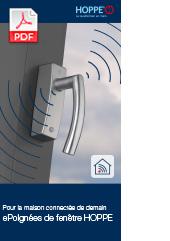 Pour la maison connectée de demain : ePoignées de fenêtre HOPPE(0,7 MB)