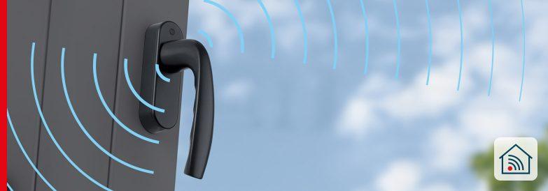 ePoignée de fenêtre ConnectHome – Pratique et sans pile