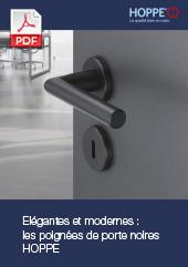 Elégantes et modernes : les poignées de porte noires HOPPE(5,3 MB)