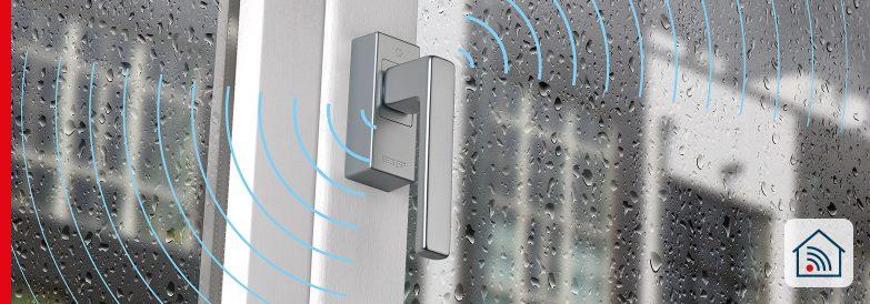 ePoignée de fenêtre SecuSignal® – Bien plus qu'une poignée qui ouvre et ferme la fenêtre