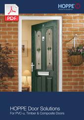 HOPPE Door Solutions For PVC-u, Timber & Composite Doors   (0.5 MB)