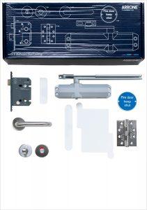 ARRONE Fire Door Kit B – Bathroom door locking