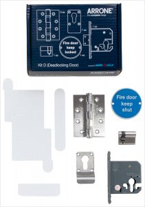 ARRONE Fire Door Kit D – Deadlocking door