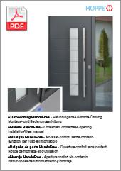 eHandle HandsFree for doors  Installation/User Manual  (6,1 MB)