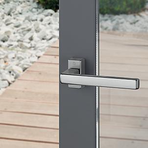 Tilt and slide handles for patio doors