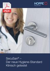 SecuSan® – Der bewährte Hygiene-Standard Klinisch getestet (1,3 MB)