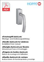 eManiglia AutoLock per finestre –Istruzioni d'uso e montaggio (3 MB)