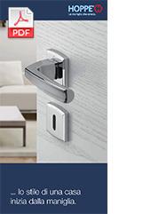 Brochure per utente finale:... lo stile di una casa inizia dalla maniglia (7,2 MB)