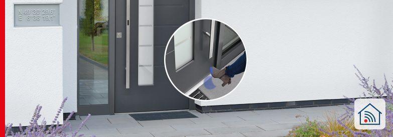eManiglia HandsFree per porte – sblocco senza contatto, estrema comodità