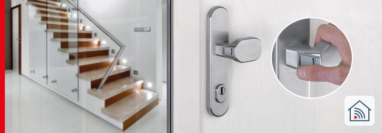 eManiglia FingerScan per porte – semplice e sicura