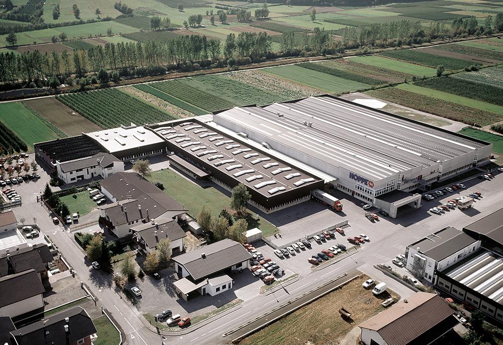 Fabriek in Laas