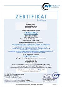 certificaat DIN 18257