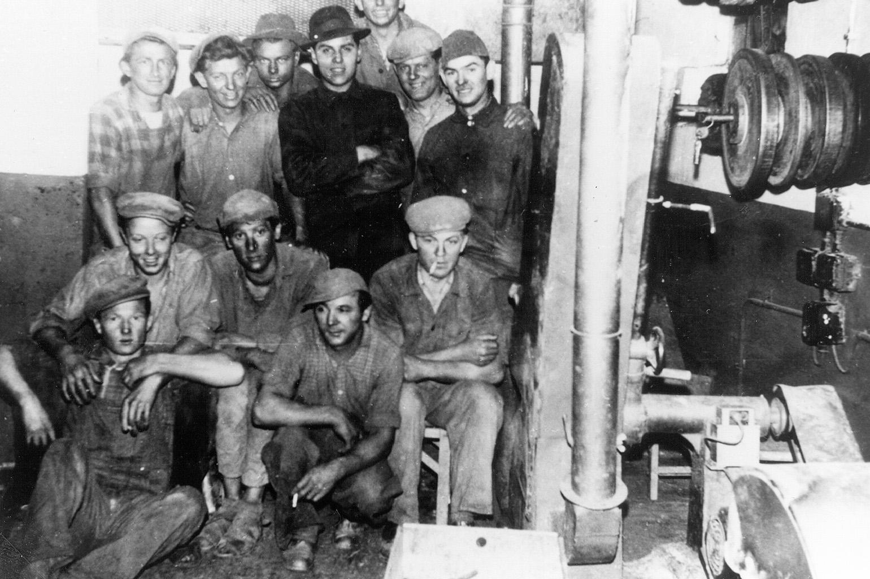 Pracownicy w Bromskirchen