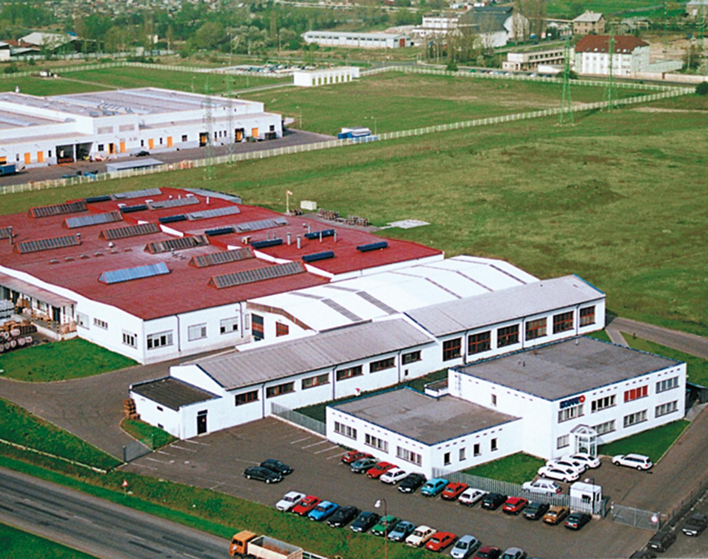 Завод в Хомутове, Чешская Республика