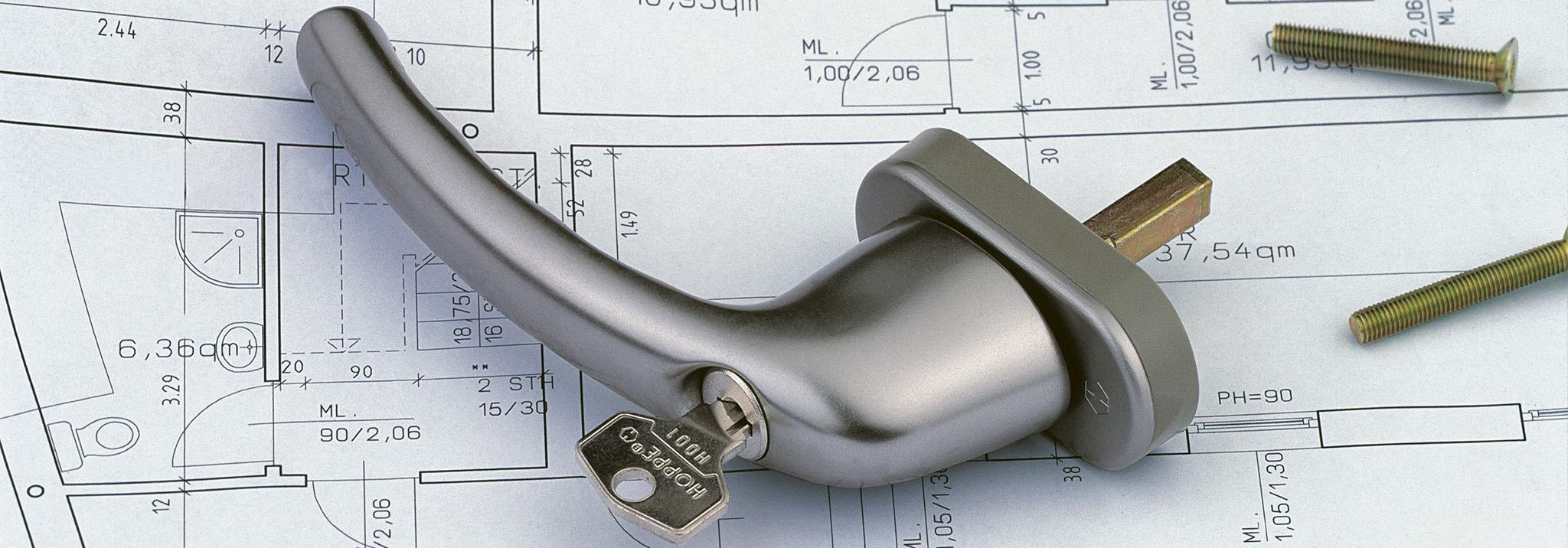 DIN EN 13126-3 для оконных ручек