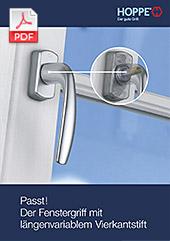 Passt! Der Fenstergriff mit VarioFit®(0,8 MB)