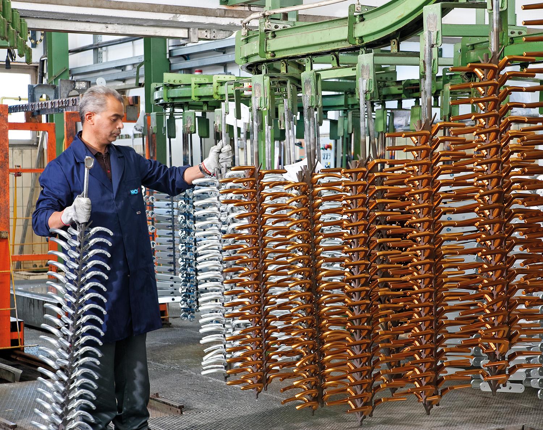 Produktionsanläggning I-Schluderns