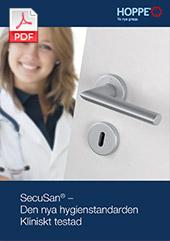 HOPPE SecuSan® – Den nya hygienstandarden  Kliniskt testad (1,7 MB)
