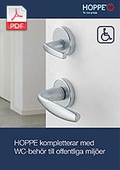 HOPPE kompletterar med WC-behör  till offentliga miljöer! (0,3 MB)