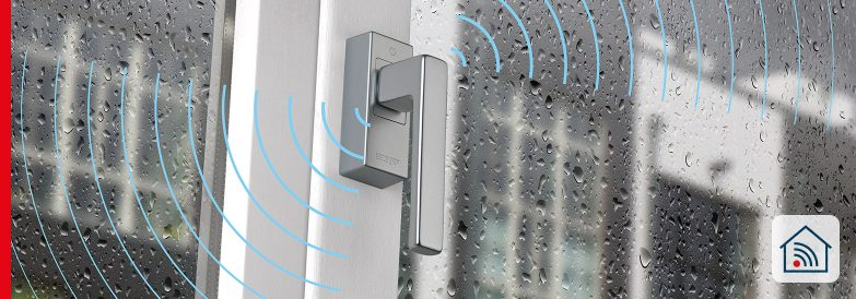 eHandle SecuSignal® för fönster – bara öppna och stänga tillhör gårdagen