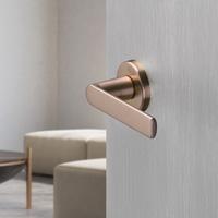 Door handle, copper colour
