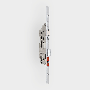 Electronic multipoint lock